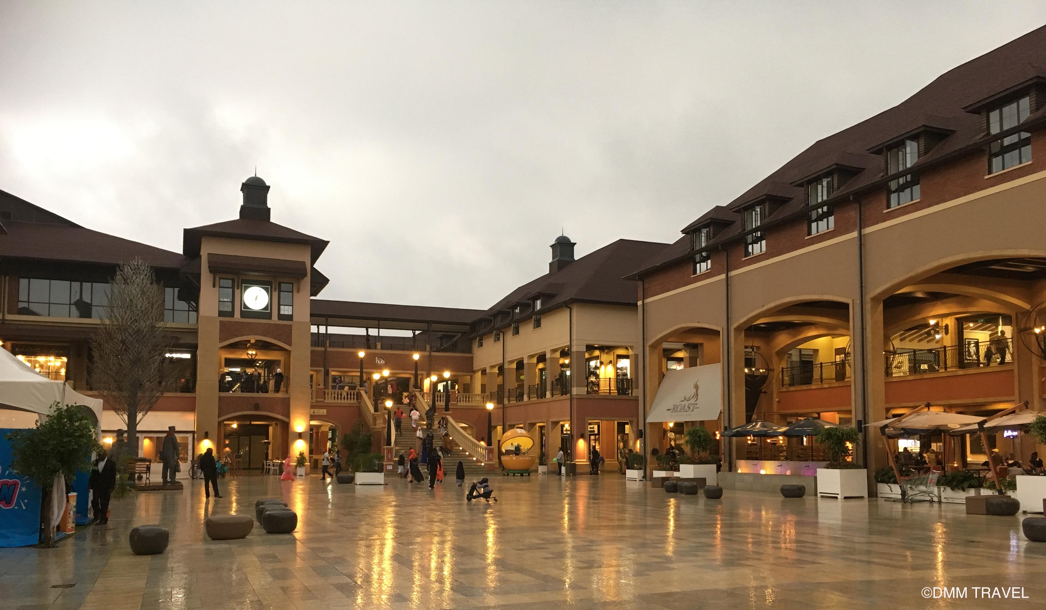 ケニアの首都ナイロビにあるショッピングモール「ザ・ハブ・カレン(The Hub Karen)」