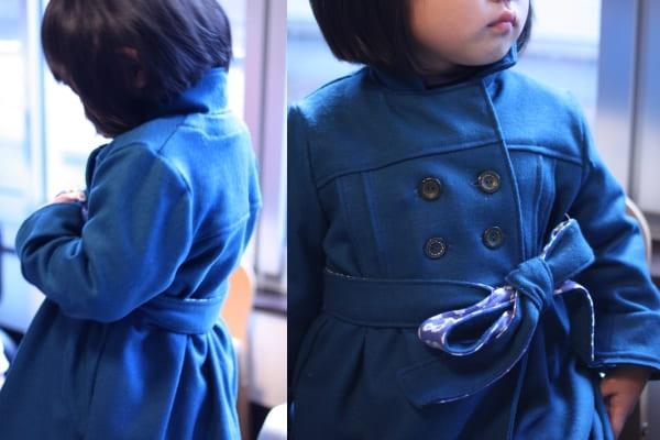 手作りのコート