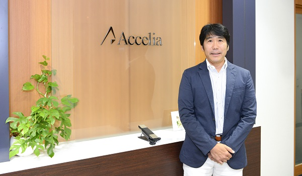 アクセリア株式会社 代表取締役社長  牧野 顕道氏