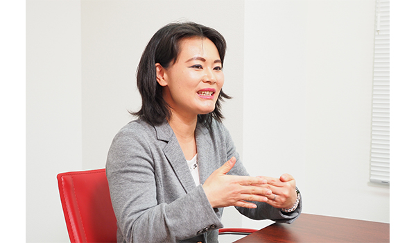 株式会社コンテンツパーク 代表取締役 相場 奈美氏