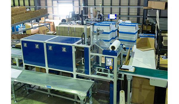 多種箱シュリンク梱包システム『Multi BOS-Line』